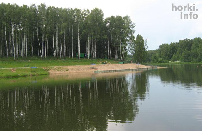 Верхнее озеро в Горках