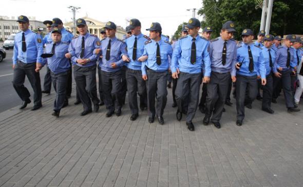 По количеству милиции Беларусь обогнала среднемировой показатель в четыре раза. Фото: bymedia.net.