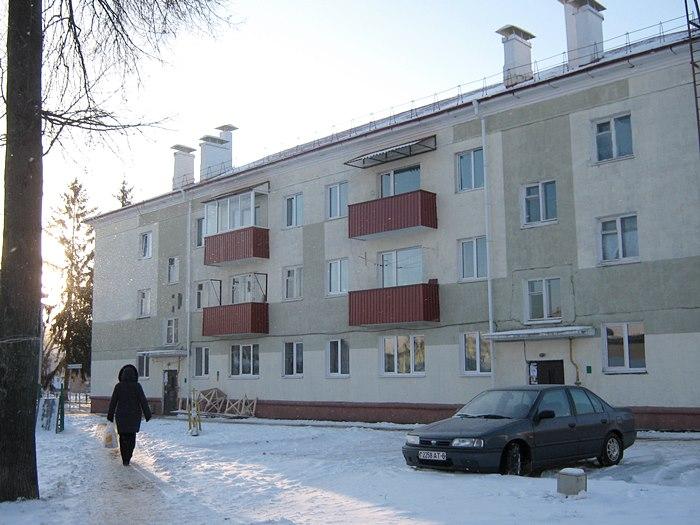 Почему жильцы этого дома в Горках не хотят платить за ремонт из собственного кармана?